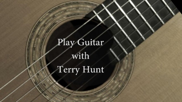 Guitar Lessons with Terry Hunt/Aguado's Estudio